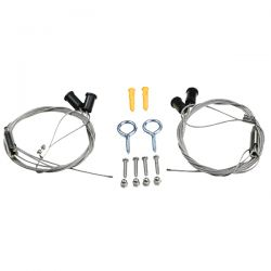 MAXSPECT Kit de suspension pour rampe LED R420R / RSX / Recurve