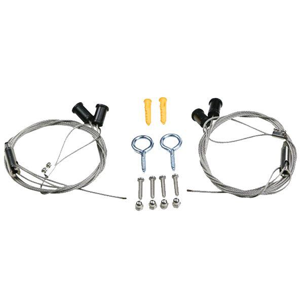 MAXSPECT Kit de suspension pour rampe LED R420R / RSX / Recurve