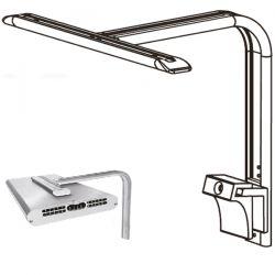 Support pour 1x rampe LED GrassyCore Sealight 148W