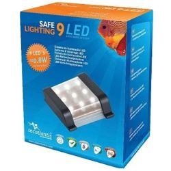 AQUATLANTIS Safe Lightning 9 LED Rampe LED pour aquarium d'eau douce - 2,4 Watts