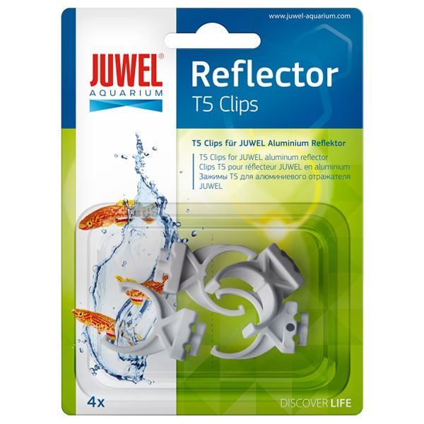 JUWEL Clips T5 pour réflecteurs Hiflex - x4