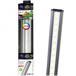 LUMIVIE RAL G2 RGB 21W 80 cm - Rampe LED pour aquarium d'eau douce