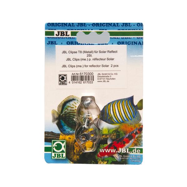 JBL Clips T8 en acier + Vis - Vendus par 2