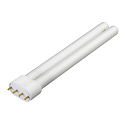 PHILIPS Tube Fluo Compact 18 Watts Blanc - Culot 2G11