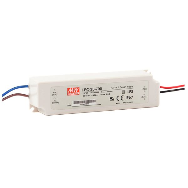 Driver LED Mean Well LPC-35-700