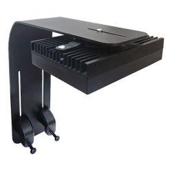 D-D H2OCEAN Slimline Designer Bracket Noir GEN2 - Support de cuve pour toute rampe LED Hydra