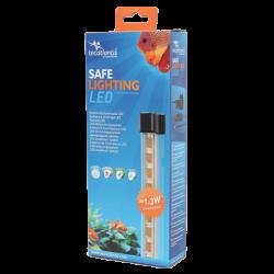 AQUATLANTIS Safe Lightning 12 LED Rampe LED pour aquarium d'eau douce - 30 cm
