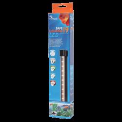 AQUATLANTIS Safe Lightning 19 LED Rampe LED pour aquarium d'eau douce - 1,6 Watts